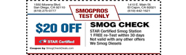 SMOG PROS coupon